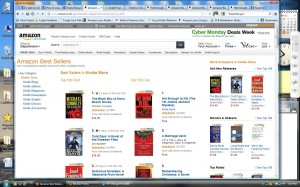number 1 in aall of kindle stores 11-28-12